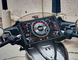 #3 для Graphic for motorcycle dashboard от Watfa3D