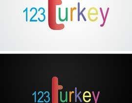 Nro 84 kilpailuun logo for 123Turkey.com website käyttäjältä Sharminmuna