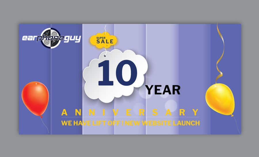 Contest Entry #25 for Need Flyer for 10 Year Anniversary