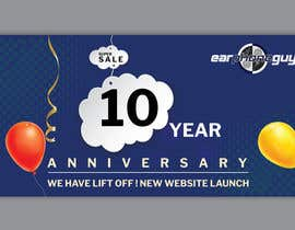 #26 for Need Flyer for 10 Year Anniversary by MOMODart