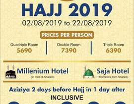 Nro 3 kilpailuun New Flyer Hajj 2019 (Belgium) käyttäjältä FarooqGraphics