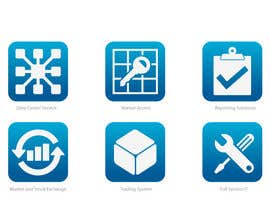 #5 for 6 Icons for IT Company by raikulung