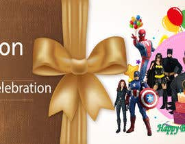 nº 69 pour Create a superhero theme birthday invite par razuemran