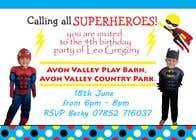 Proposition n° 3 du concours Graphic Design pour Create a superhero theme birthday invite