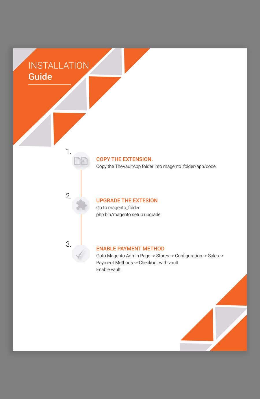 Kilpailutyö #                                        6                                      kilpailussa                                         Make an Installation PDF - Need Fast