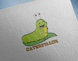 #39 untuk Create a cute caterpillar as the mascot logo for School accessories business oleh gallipoli