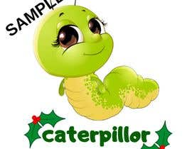 #33 untuk Create a cute caterpillar as the mascot logo for School accessories business oleh Faiqahhasnol