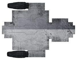 #3 для Design 2D sprite of spaceship topdown view, with some animation. от rodrigomoran