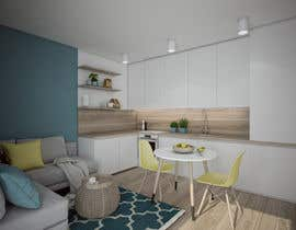 #20 for INTERIOR DESIGN of an apartment, 29 m2 at the edge of the sea. by pasikotek
