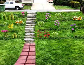 #11 for Landscaping a slope in the front yard (no retaining wall allowed) by shahidullah79