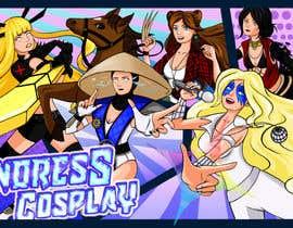 Nro 74 kilpailuun Create a Logo & Banner Design for my Cosplay Pages käyttäjältä Gummmyy