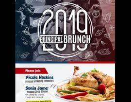 Nro 244 kilpailuun 2019 Principal Brunch Flyer käyttäjältä jamiu4luv