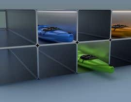 #5 for Design a multi kayak storage unit by rosales3d