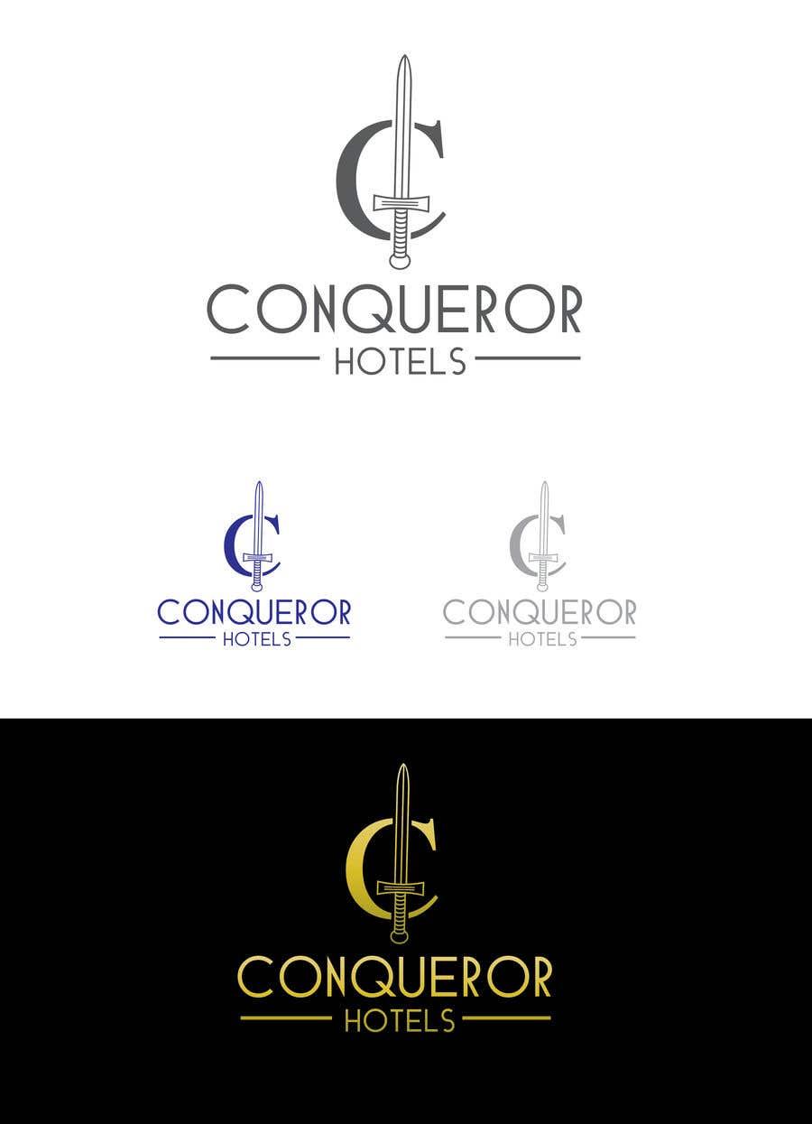 Kilpailutyö #244 kilpailussa Conqueror Hotels - Logo Design