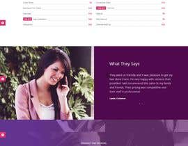 Nro 25 kilpailuun New website layout for a Urban Spa company käyttäjältä utshossm