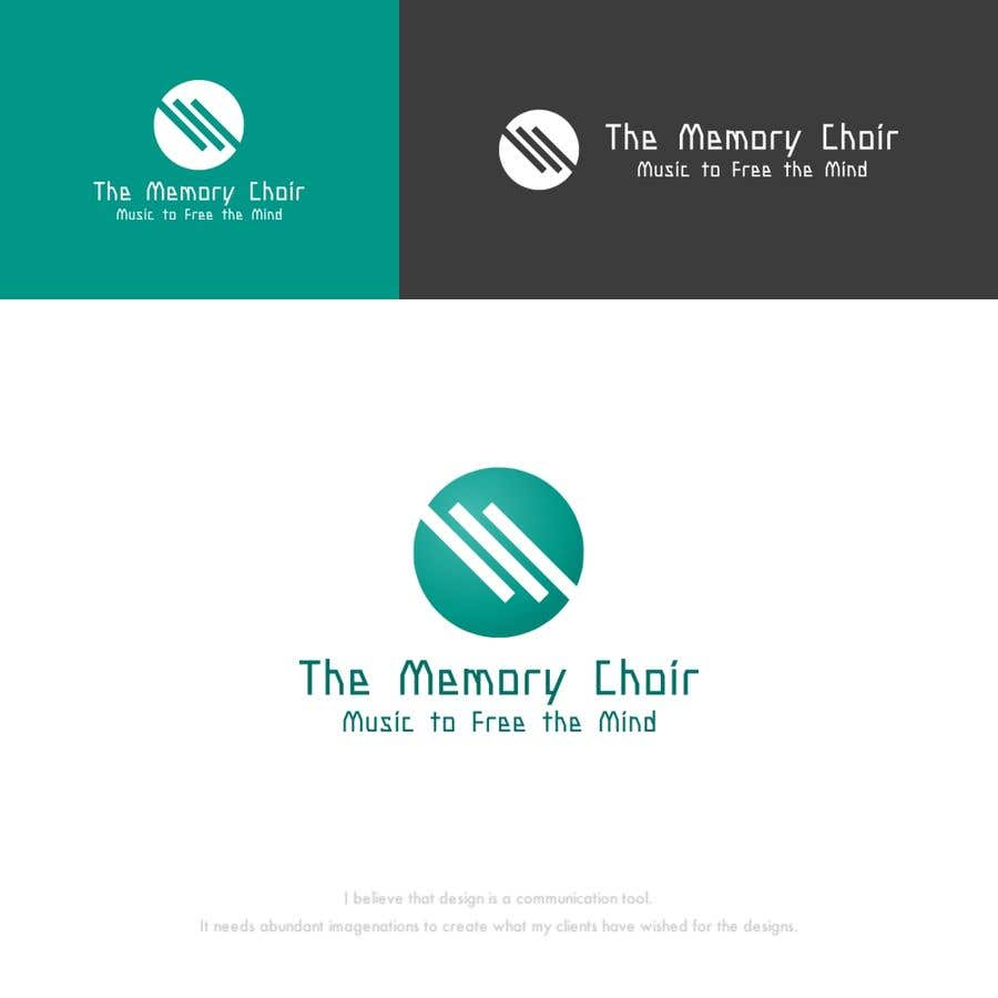 Proposition n°31 du concours I need a logo for a choir called The Memory Choir with a strap line 'Music to Free the Mind'