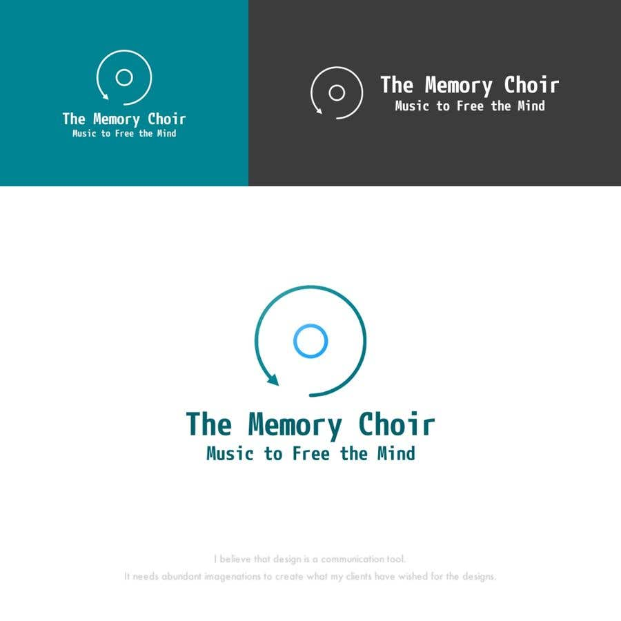 Bài tham dự cuộc thi #36 cho I need a logo for a choir called The Memory Choir with a strap line 'Music to Free the Mind'