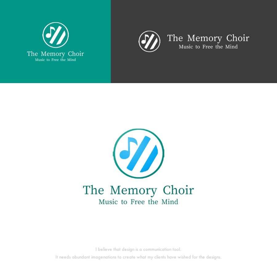 Bài tham dự cuộc thi #37 cho I need a logo for a choir called The Memory Choir with a strap line 'Music to Free the Mind'