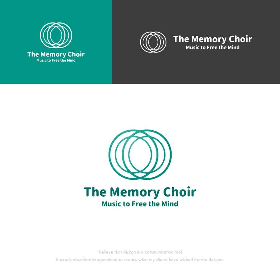 Bài tham dự cuộc thi #38 cho I need a logo for a choir called The Memory Choir with a strap line 'Music to Free the Mind'