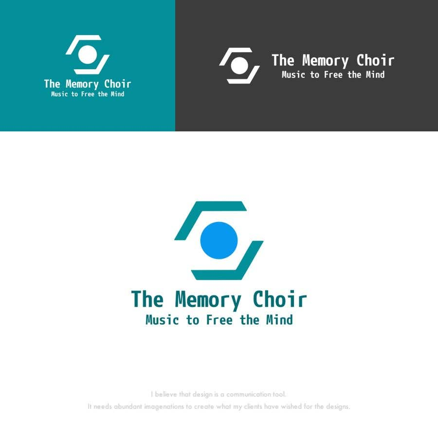Proposition n°40 du concours I need a logo for a choir called The Memory Choir with a strap line 'Music to Free the Mind'