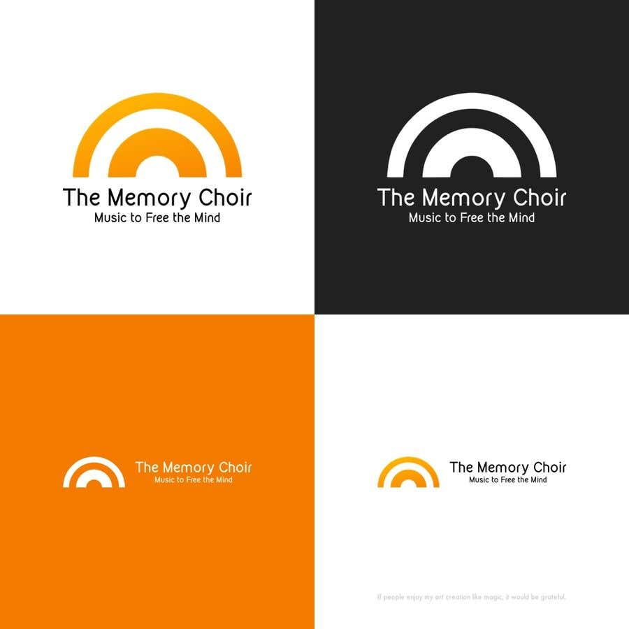Bài tham dự cuộc thi #32 cho I need a logo for a choir called The Memory Choir with a strap line 'Music to Free the Mind'