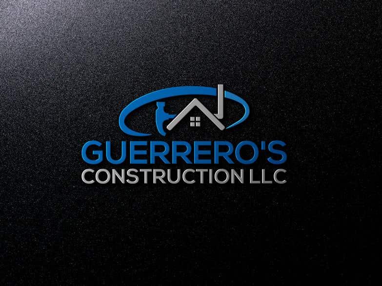 Konkurrenceindlæg #114 for Guerrero's Construction, logo Design