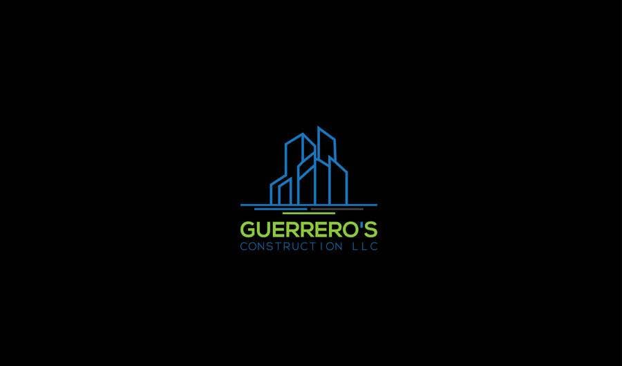 Konkurrenceindlæg #109 for Guerrero's Construction, logo Design