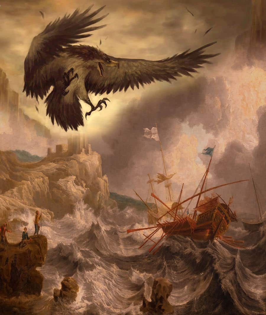 Contest Entry #49 for Mythological Roc Eagle
