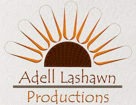 nº 18 pour Need current logo revamp. Company is Adell Lashawn Productions par Keshiga