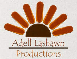 nº 26 pour Need current logo revamp. Company is Adell Lashawn Productions par Keshiga