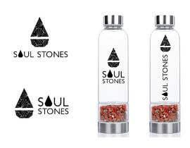 #33 для Crystal Healing Water Bottle Packaging and Logo от eling88