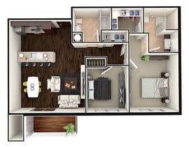 #39 para Floor PLan Lockwood Villas por carmoto