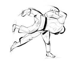 #63 for Create illustration of judo throw using a particular style af digi2paint