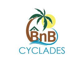"""#26 для I need a logo for my site and for my professional cards etc. The company name is """"CycladesBnB"""" and it refers on cyclades (islands on the Greek Aegean sea). Our business are to rent houses through platforms to tourists and some other services like """"car ren от arvtmaria"""