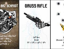 #2 для Design and illustrate three playing cards for a sci-fi, tabletop, mecha robot game от ReadyPlayer01
