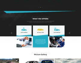 #62 для Design a landing page in PSD for a car dealer's website. от tajenul