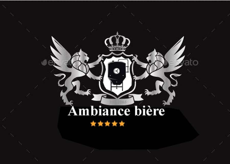 """Penyertaan Peraduan #118 untuk Logo for a brewpub called """"Ambiance bière"""""""