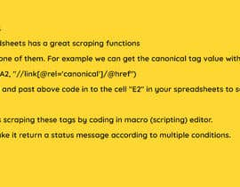 #7 untuk Using google spreadsheet to crawl our site oleh NonikNone