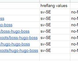 sonny89 tarafından Using google spreadsheet to crawl our site için no 6