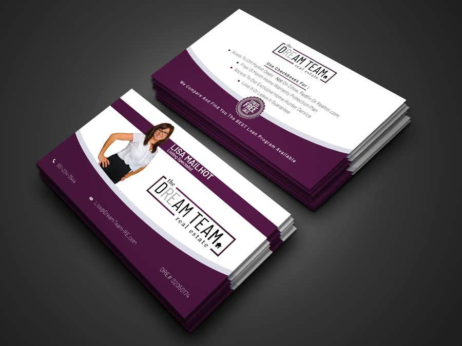 Bài tham dự cuộc thi #222 cho Business Cards for our Team