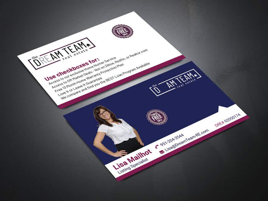 Bài tham dự cuộc thi #278 cho Business Cards for our Team