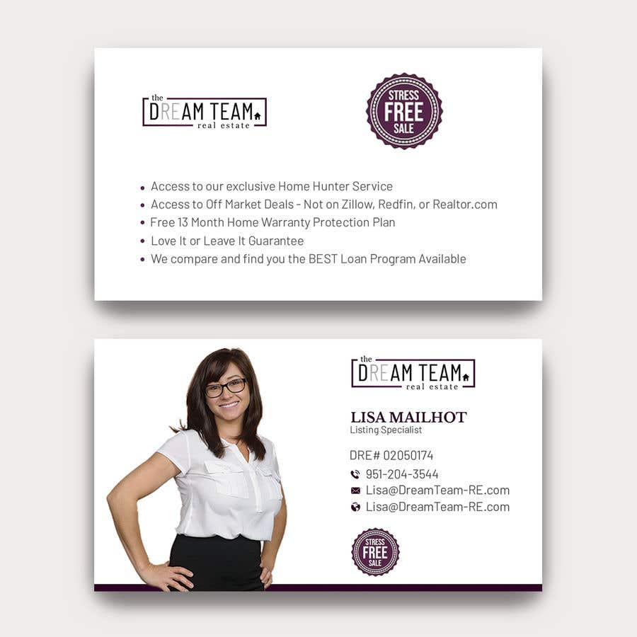Конкурсная заявка №306 для Business Cards for our Team