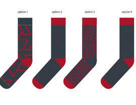 #5 for design a pair of socks af eling88