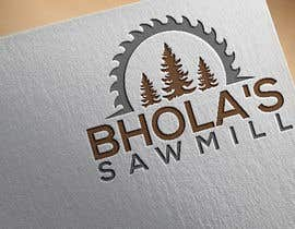 #37 для Make logo for sawmill от abulbasharb00