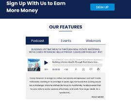 #8 for Redesign a landing/home page by rginfosystems