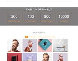 #9 для Design front page of website от AbdullahAlShihab