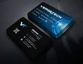 nº 369 pour Design a Business card for I.T. consultant par Parvez201
