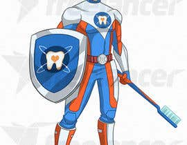 #9 cho Cartoon design. Like captain America but with zerocaries logo in the chest instead of star. A superhero that fights against tooth caries bởi mayank94214