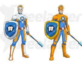 #12 cho Cartoon design. Like captain America but with zerocaries logo in the chest instead of star. A superhero that fights against tooth caries bởi mayank94214
