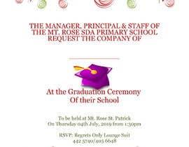 Číslo 8 pro uživatele Graduation Invitation od uživatele talha334